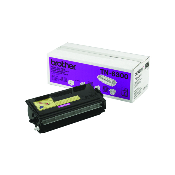 Brother HL-1030 Black Laser Toner Cartridge (Pack of 1) TN6300