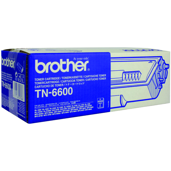 Brother HL-1030 Black High Yield Laser Toner Cartridge (Pack of 1) TN6600