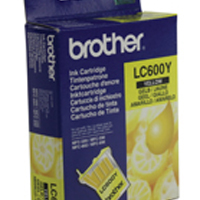 Brother MFC-890 Yellow Inkjet Cartridge (Pack of 1) LC600Y