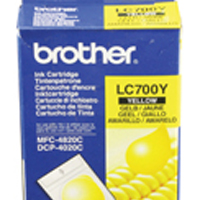 Brother DCP-4020C/MFC-4820 Inkjet Cartridge Yellow LC-700Y