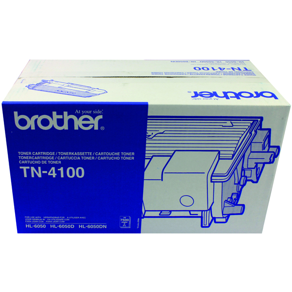 Brother HL-6050 Black Laser Toner Cartridge TN4100