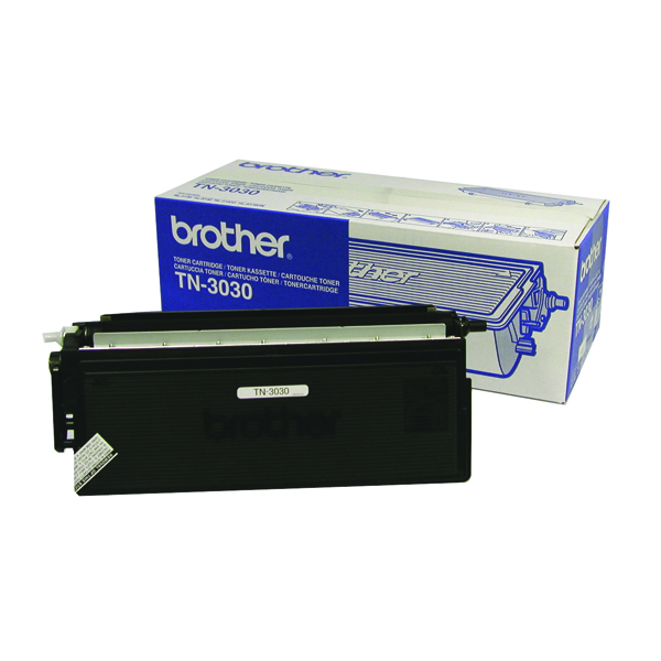 Brother TN3030 Black Laser Toner Cartridge (Pack of 1) TN3030