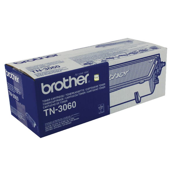 Brother TN3060 Black Laser Toner Cartridge (Pack of 1) TN3060