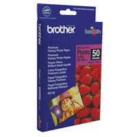 Image for Brother Premium Plus Glossy 6x4in Photo Paper (Pack of 50) BP61GLP50