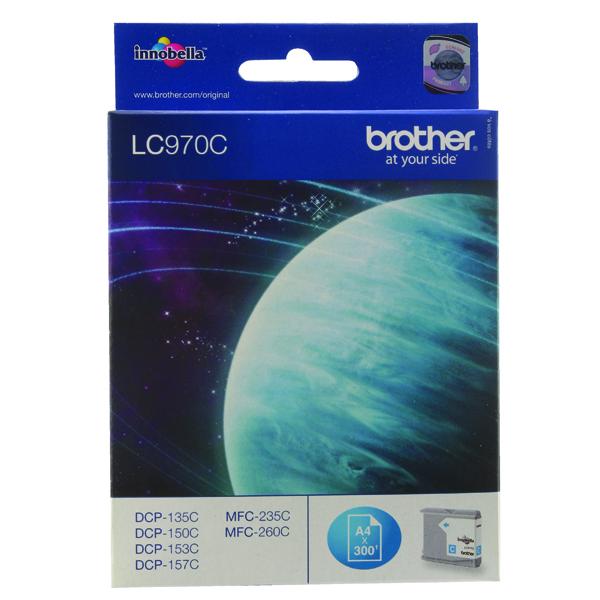Brother LC970C Cyan Inkjet Cartridge LC-970C