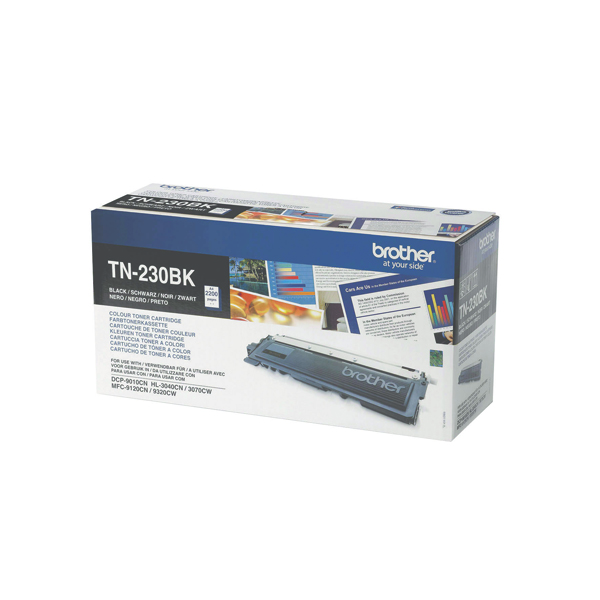 Brother MFC9120/9320 Laser Toner Cartridge Black (Pack of 1) TN230BK