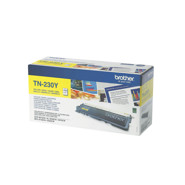 Brother MFC9120/9320 Laser Toner Cartridge Yellow (Pack of 1) TN230Y