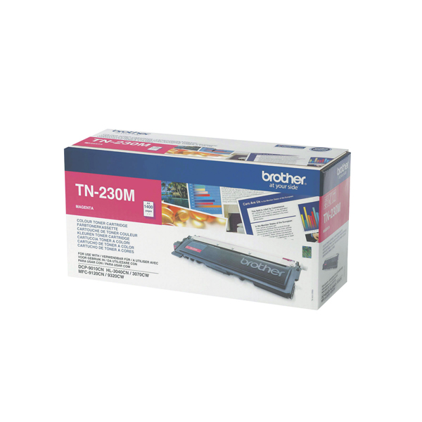 Brother MFC9120/9320 Laser Toner Cartridge Magenta (Pack of 1) TN230M