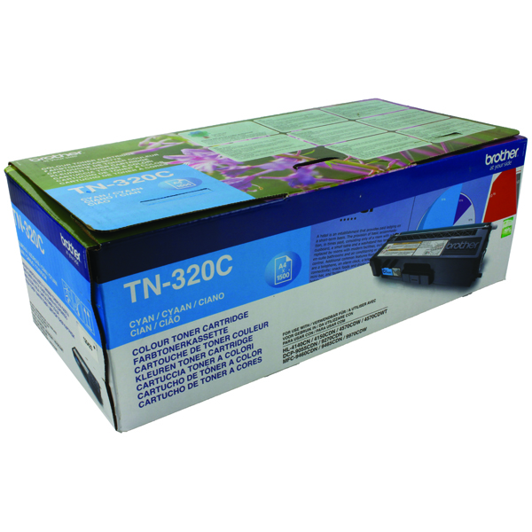 Brother Cyan Laser Toner Cartridge TN320C