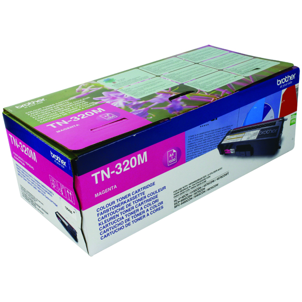 Brother Magenta Laser Toner Cartridge TN320M
