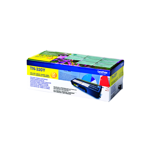 Brother Yellow TN320Y Laser Toner Cartridge