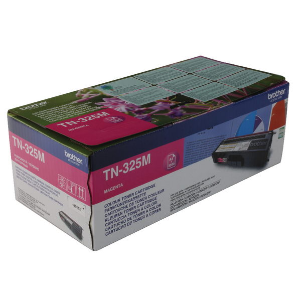 Brother Magenta Toner Cartridge High Capacity TN325M