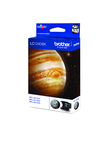 Brother LC1240BK Black Inkjet Cartridge LC-1240BK