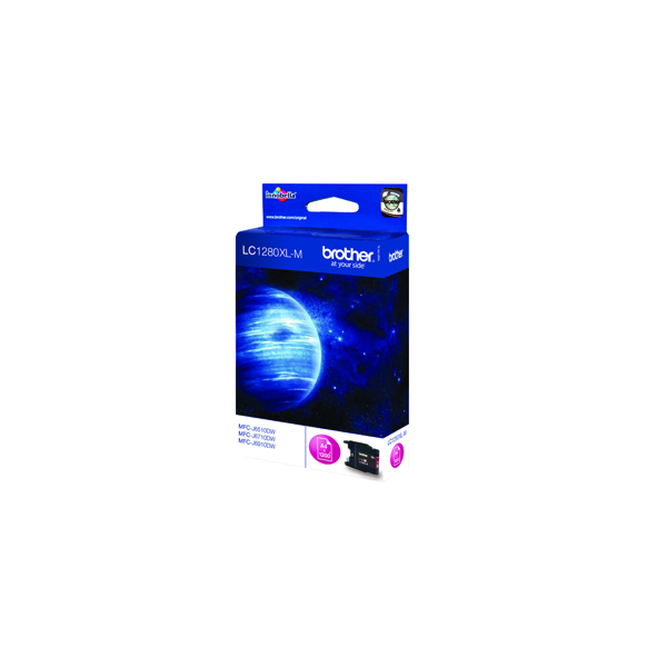 Brother Magenta High Yield Inkjet Cartridge LC1280XLM