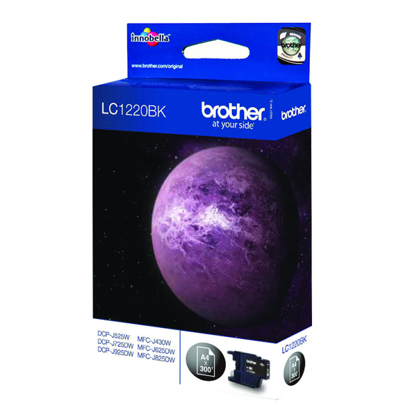 Brother LC1220BK Black Inkjet Cartridge LC-1220BK