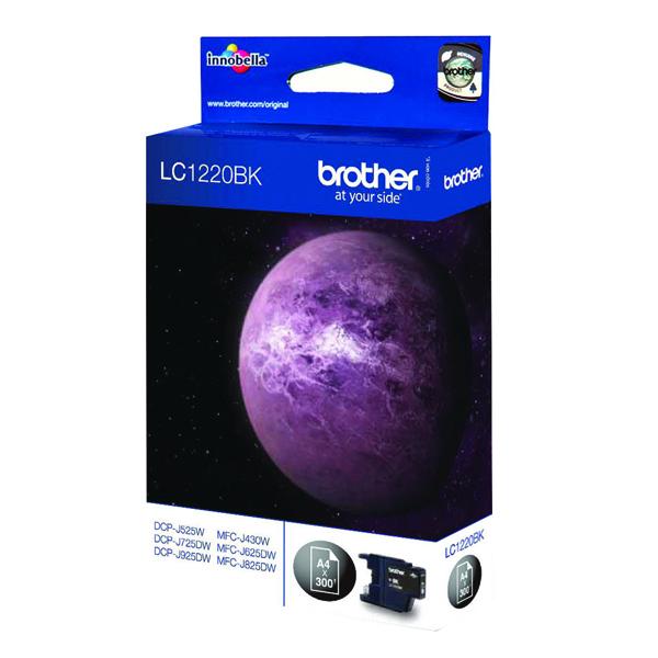 Brother Black Inkjet Cartridge LC1220BK