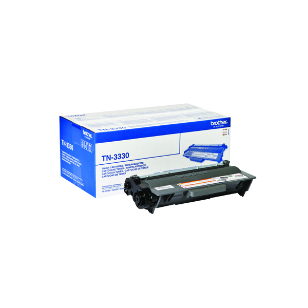 Brother TN-3330 Black Laser Toner Cartridge TN3330
