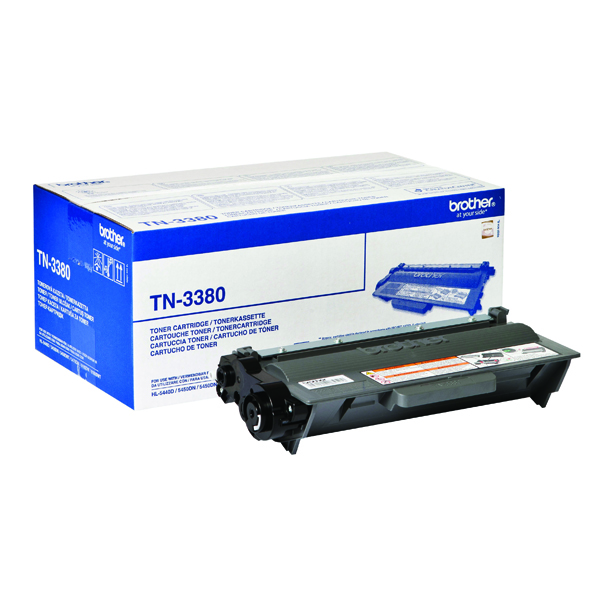 Brother TN-3380 Black Toner Cartridge High Capacity TN3380