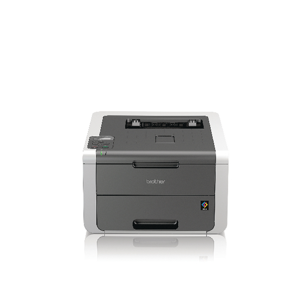 Brother HL-3140CW Colour Laser Printer Wireless Grey HL3140CWZU1