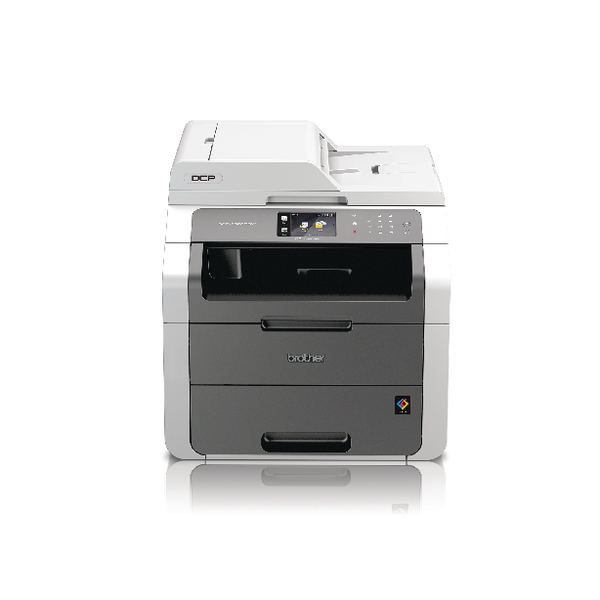 Brother DCP-9020CDW Colour Laser All-in-One Printer Duplex Network Wireless White (Pack of 1) DCP9020CDW