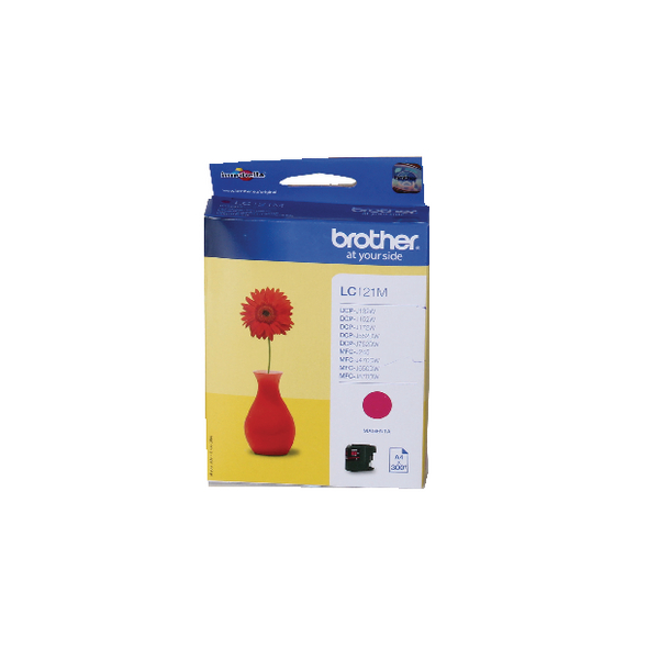 Brother LC121M Magenta Inkjet Cartridge