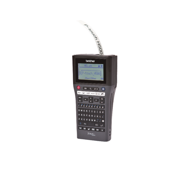 Brother P-Touch PT-H500 Handheld Label Printer (Pack of 1) PTH500Z1