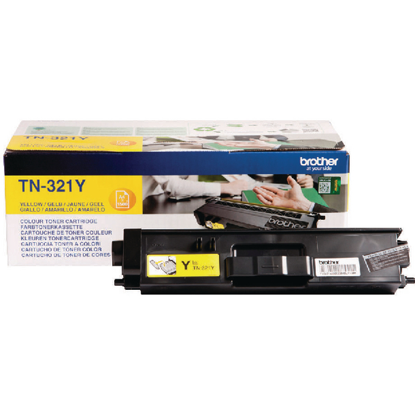 Brother Yellow TN-321Y Laser Toner Cartridge