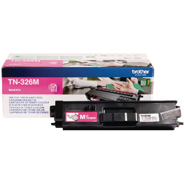 Brother Magenta TN-326M High Yield Laser Toner Cartridge
