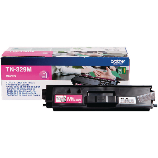 Brother Magenta Super High Yield Laser Toner Cartridge TN-329M