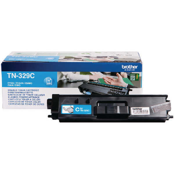 Brother TN329C Cyan Super Toner Cartridge High Capacity TN-329C