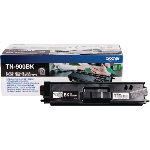 Brother TN-900 Black Super High Yield Laser Toner Cartridge TN900BK