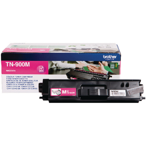 Brother TN-900 Magenta Super High Yield Laser Toner Cartridge TN900Y