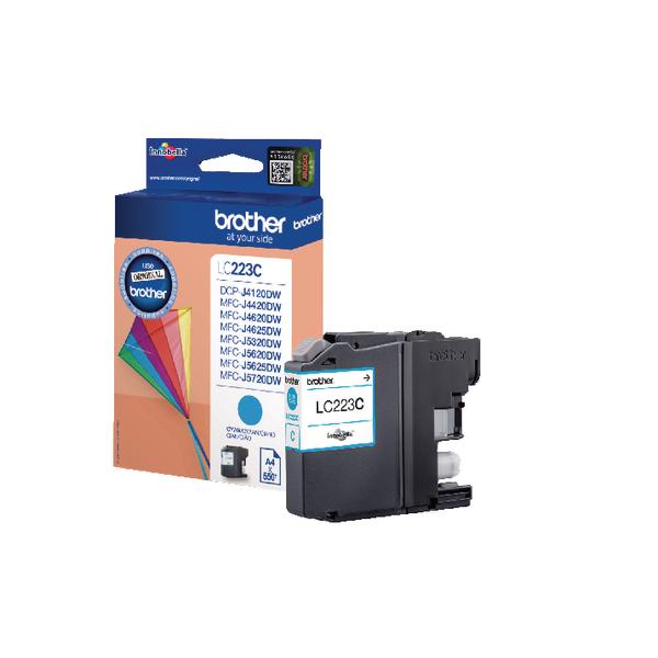 Brother Cyan Inkjet Cartridge LC223C