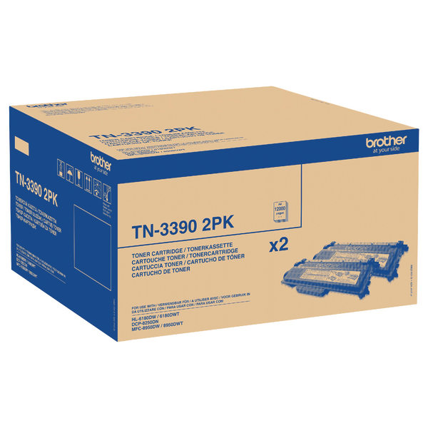Brother TN-3390 Black Super High Yield Laser Toner Cartridge
