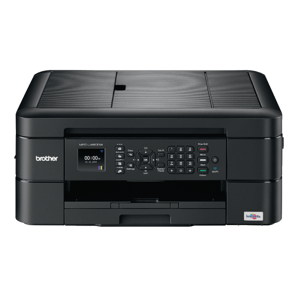 Brother MFC-J480DW Inkjet All-In-One Printer With Fax (Pack of 1) MFC-J480DW