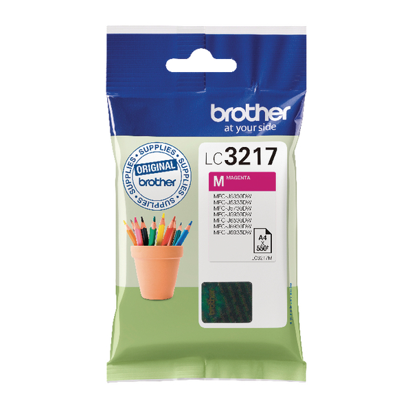 Brother LC3217 Magenta Ink Cartridge