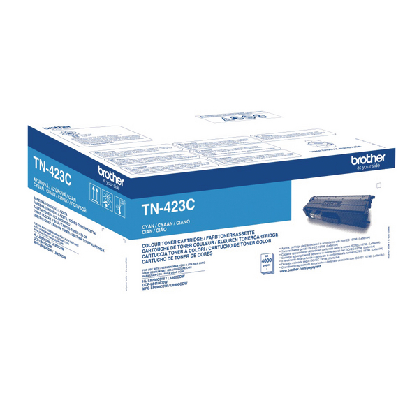 Brother TN423C HY Cyan Toner Cartridge