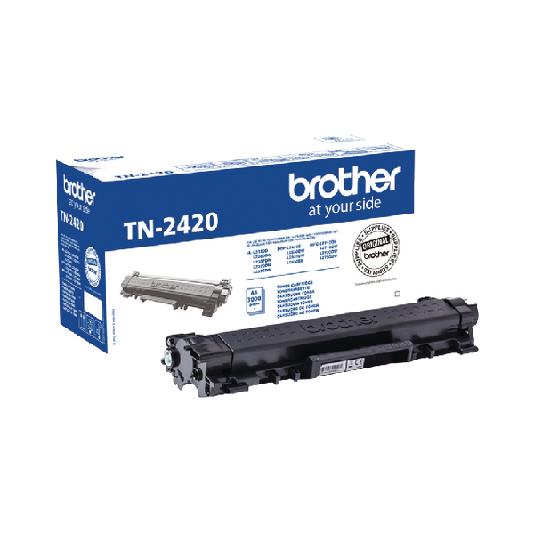 Brother TN-2420 Black Toner Cartridge