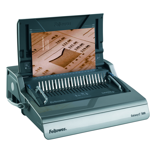Image for Fellowes Galaxy Electric Comb Binding Machine 5622101