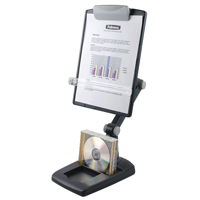 Fellowes Weighted-Base Copyholder Graphite 9169801