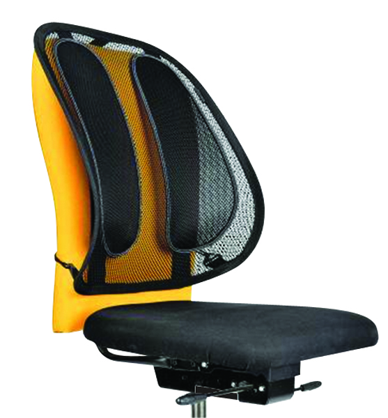 Fellowes Office Suites Mesh Back Support Black 9191301