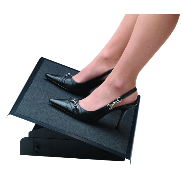 Fellowes Professional Series Black Heavy Duty Foot Rest 8064101