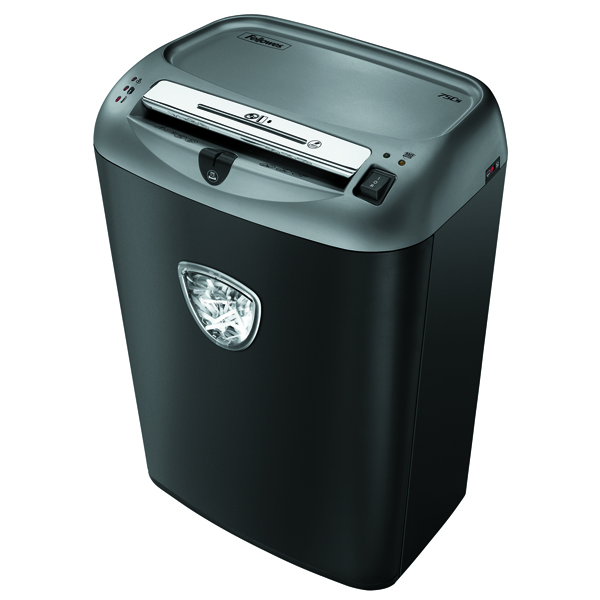 Fellowes Black 75CS Cross-Cut Shredder 4675101