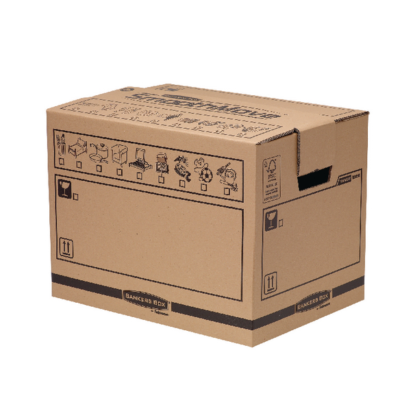 Bankers Box Brown Smoothmove Book Box (Pack of 10) 6205601