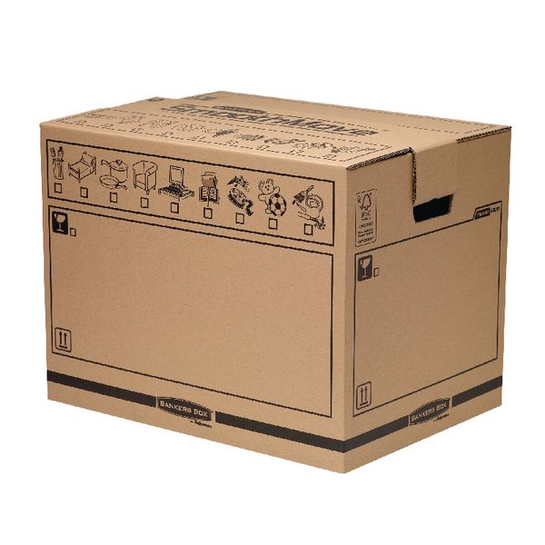 Bankers Box Brown Smoothmove Moving Trunk (10 Pack) 6205701