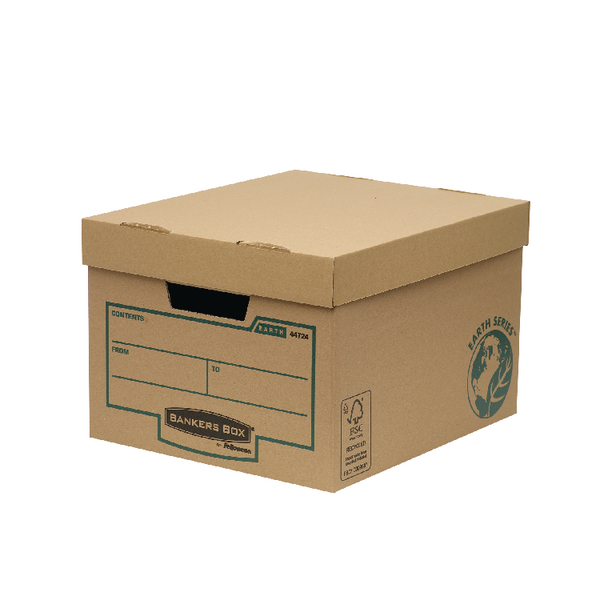 Bankers Box Brown Earth Series Storage Box (Pack of 10) 4472401