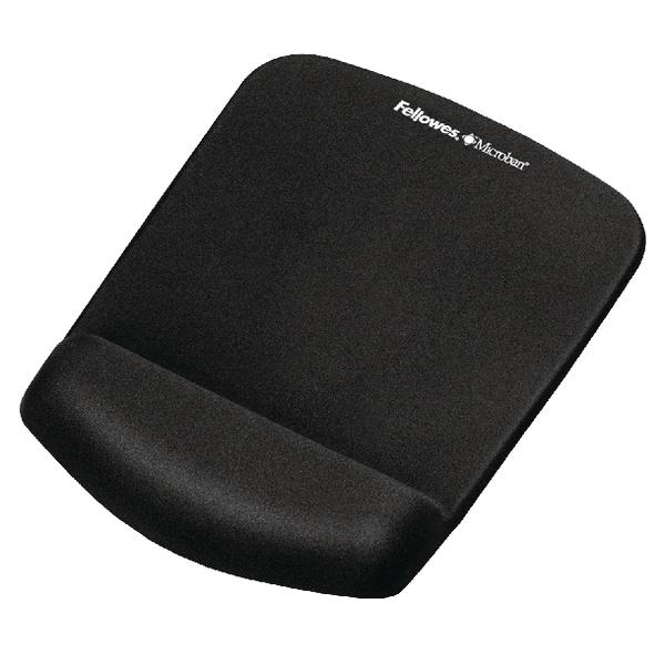 Fellowes Plushtouch Mousepad Black