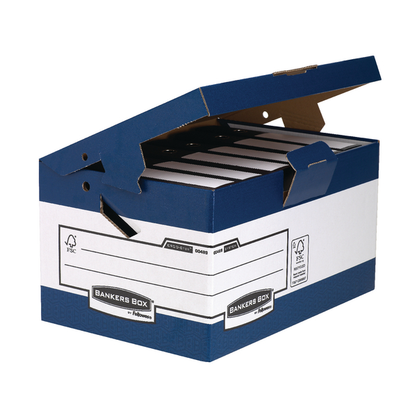 Fellowes Bankers Box System Store Maxi With Ergo Handles (Pack of 10) 0048901