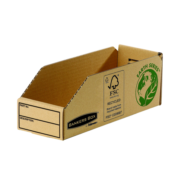 Image for Fellowes Earth Series 98mm Parts Bin (50 Pack) 7353