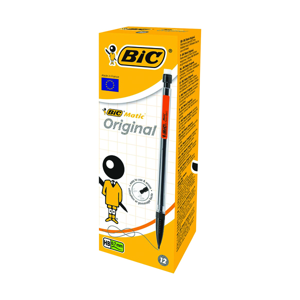 Bic Matic Mechanical Pencil 0.7mm (Pack of 12) 820959